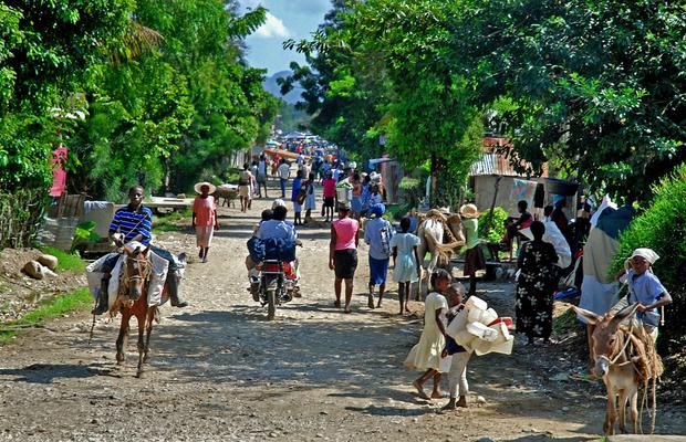 The rural parts of Haiti, such as the central plateau town of Hinche, look much the same as they have for generations.