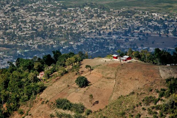 A farm outside Port-au-Prince.