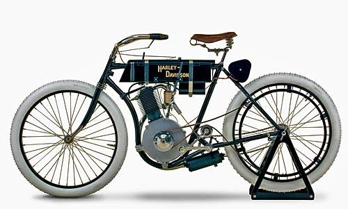 "Another exhibit is the oldest known Harley, the ""Serial Number One,"" from the early 1900s when William S. Harley and Arthur Davidson first presented to the public the Harley-Davidson motorcycle."