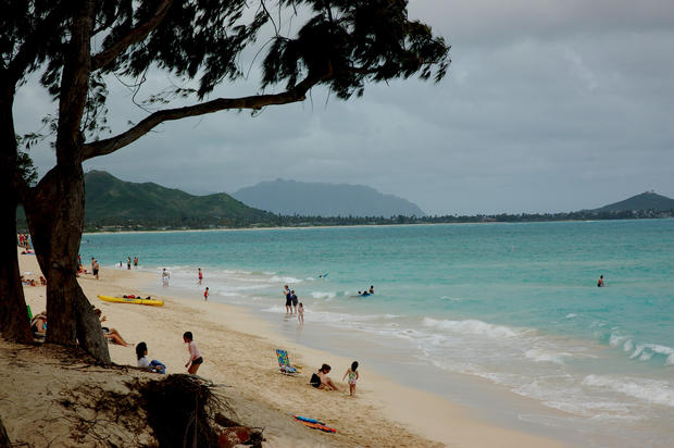 The North Shore has some of the biggest waves and best surfing in Hawaii, but plenty of beaches are gentle enough for family outings.