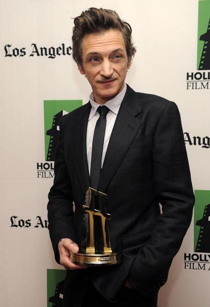 "John Hawkes, recipient of the Hollywood breakout performance award for the film ""The Sessions."""