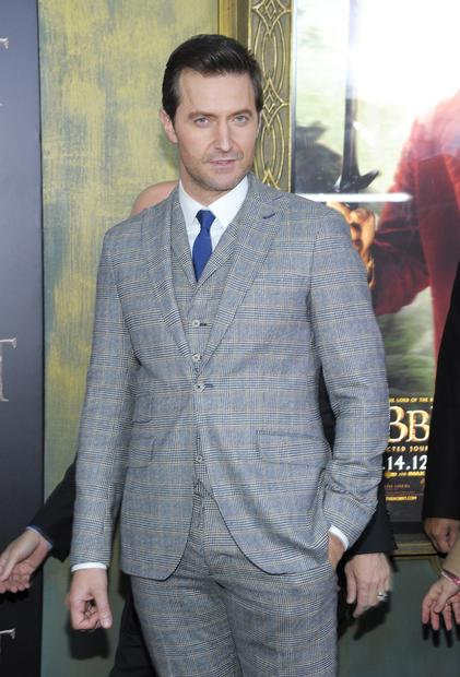 Thorin Oakenshield actor Richard Armitage.