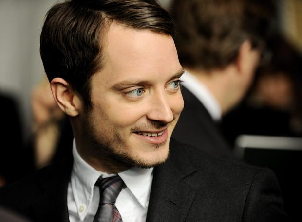Frodo Baggins actor Elijah Wood.