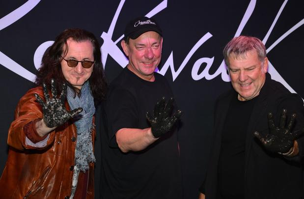 "Geddy Lee, Neil Peart and Alex Lifeson of Rush, whose hits include ""New World Man"" and ""Show Don't Tell."""