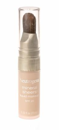 <b>Neutrogena Mineral Sheers Liquid Makeup, $14.49</b><br> <br> Beautiful. It really lets the skin breathe because it's so sheer. Erases redness and gives a fresh, healthy glow to the skin without the look of a ton of makeup.  Just be careful to not overdo. Put a few strokes on the cheeks and across the forehead and blend. This formula is good for all ages, or if you have sensitive skin and want it to be chic, smooth and silky. (C.B.)<br> <br> <B>MORE BEAUTY PRODUCTS:</B><br>
