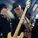 ZZ Top, left to right are Dusty Hill and Billy Gibbons