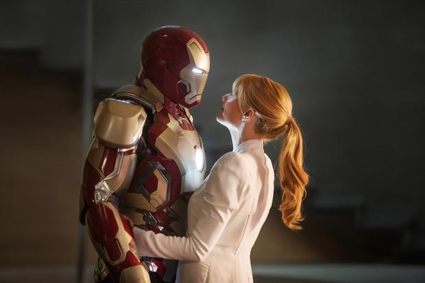"""Iron Man 3"" crossed the <a href="" http://www.latimes.com/entertainment/envelope/cotown/la-et-ct-box-office-iron-man-3-makes-billion-dollars-20130517,0,1558725.story""target=""_blank"">$1-billion milestone</a> after 23 days at the global box office, according to distributor Walt Disney Studios.  <br><br> The 3-D film, directed by Shane Black and starring Robert Downey Jr., cost Disney about $200 million to produce. The third entry in the franchise is already the most successful by far of the trilogy, as ""Iron Man 2"" ended up with $623.9 million in ticket sales globally in 2010 and the 2008 original took in $585.2 million."