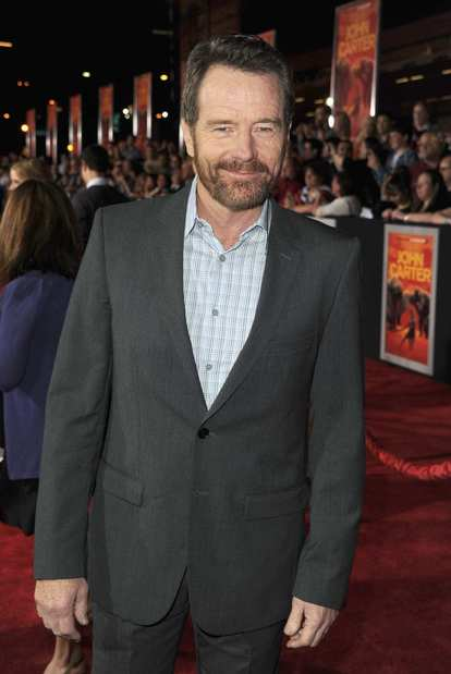 """Breaking Bad"" actor Bryan Cranston, who plays Powell in ""John Carter."""