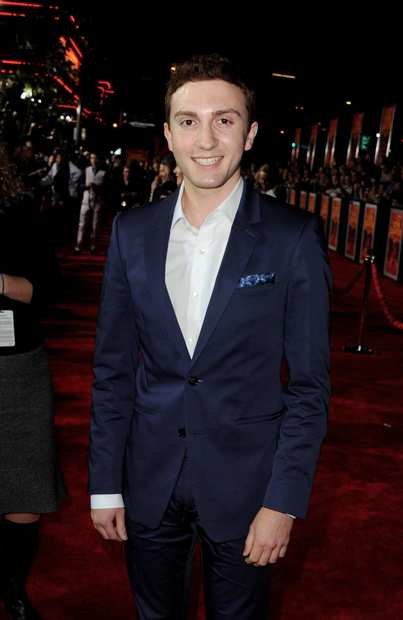 """John Carter"" actor Daryl Sabara, who plays Edgar Rice Burroughs in the film."