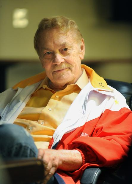 As owner of the Lakers, Jerry Buss would hold a private interview session with beat reporters before the season began.