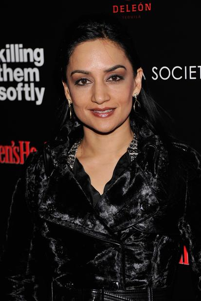 """The Good Wife"" actress Archie Panjabi."