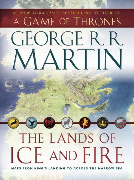 "<strong>The Lands of Ice & Fire</strong><br>  <strong>George R.R. Martin</strong><br>  Bantam, $40<br>  A boxed collection of 12 maps from the fictional fantasy books and TV series ""Game of Thrones.""<br>"