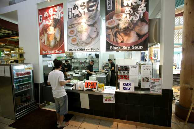 Ramen Iroha is in the food court of Marukai Market in Gardena.