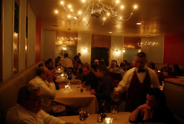Valentino in Santa Monica is known for its elegant dining and extensive wine list.