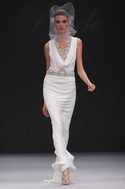 Badgley Mischka Bride Spring 2012.