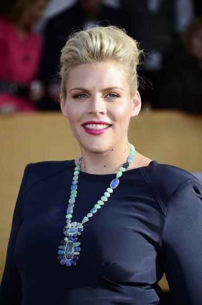 Busy Philipps' insanely gorgeous, chunky stone necklace by L.A. designer Irene Neuwirth.