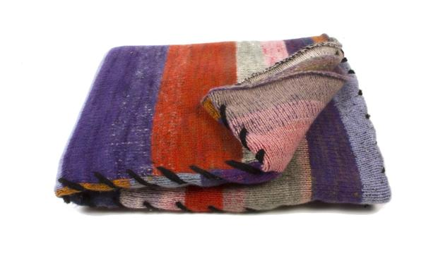 Four Panel Blanket from The Elder Statesman. Price: Starting price of $5525. Retailer: Maxfield or www.elder-statesman.com.