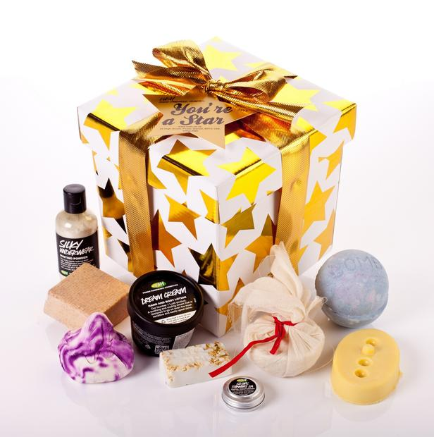 Lush You're A Star gift set, $74.95 at Lush in Santa Monica, Studio City and Topanga.