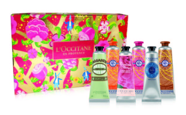 L'Occitane Hand Cream Bouquet, $50 at L'Occitane stores.