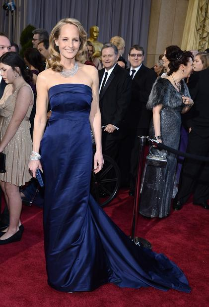Oscars 2013 red carpet: Helen Hunt in H&M.