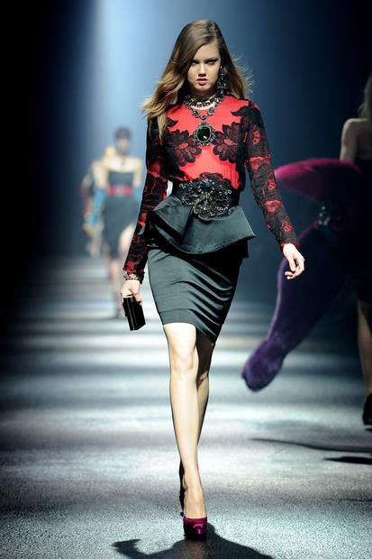 Lanvin Paris Fashion Week 2012