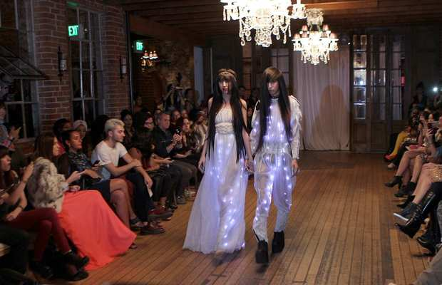 A look from Bohemian Society's spring 2013 presentation at the Carondelet House.