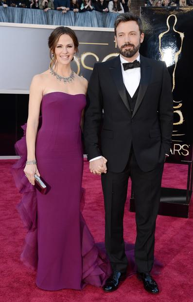 Oscars 2013 red carpet: Actress Jennifer Garner in Gucci.