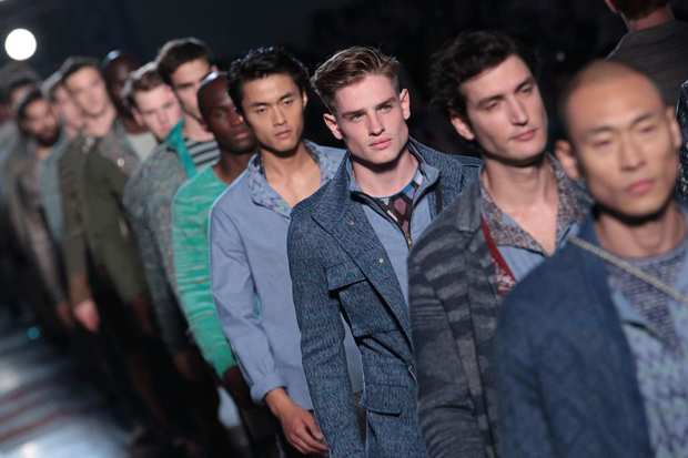 Missoni menswear is shown.