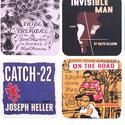 Book cover coasters