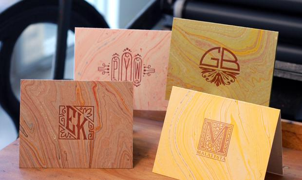 "The Letterpress Lab, an offshoot of De Milo Design in South Pasadena, lets DIYers rent its production studio to create whatever they want -- cards, posters, coasters and more. Present your favorite ""maker"" with a gift certificate for a rental, which includes one hour of one-on-one instruction. Or rent the studio yourself to make your own gifts. $100 for five-hour rental, $160 for eight-hour rental, 1401 Mission St., South Pasadena, (626) 403-0317, <a href=""http://www.demilodesign.com"">www.demilodesign.com</a>"