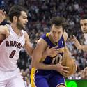 Landry Fields; Steve Nash; Jose Calderon