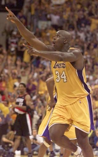 "The setting: <a href=""http://projects.latimes.com/lakers/player/shaquille-oneal/"">O'Neal</a> leapt high in the air and threw down a one-handed dunk off an alley-oop pass from Kobe Bryant to give the Lakers an 85-79 lead with 41.9 seconds remaining.<br> <br> The significance: The Staples Center crowd may never have been louder than when O'Neal finished off a 25-4 run that helped the Lakers reach the NBA Finals for the first time since 1991. The Lakers trailed, 75-60, before pulling off the biggest fourth-quarter rally in a Game 7 in league history. Their 89-84 victory sent them to the Finals, where they beat the Indiana Pacers in six games for their first title since 1988."