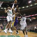 <b>8. Derek Fisher vs. Boston Celtics, Game 3 NBA Finals, June 8, 2010.</b>