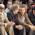 Sean Penn, Jack Nicholson, Lakers