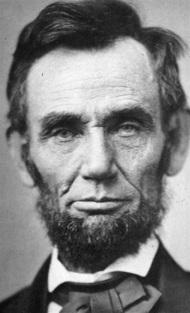 A Nov. 8, 1863, image of President Abraham Lincoln.