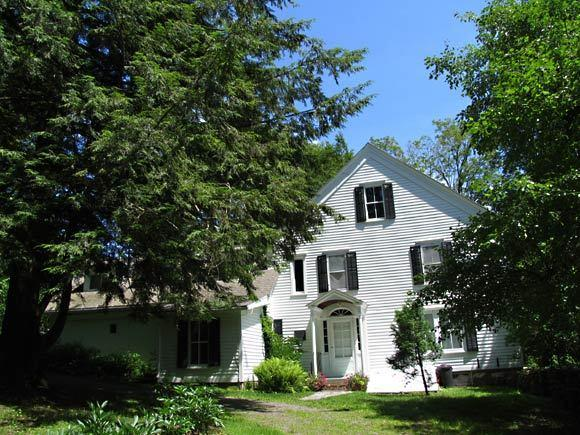 Edna St. Vincent Millay and her husband moved to Steepletop, a modest hilltop farmhouse in Austerlitz, N.Y.,  in 1925. She lived there until her death in 1950.
