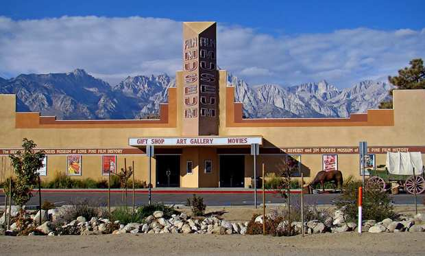 Lone Pine Film History Museum houses a treasure trove of artifacts, including pearl-handled pistols and silver-inlaid saddles. The museum is also home to an annual film festival Oct. 5-7.