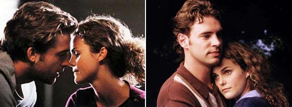 <b>Angles of the love triangle:</b> The beginning of the show opens with Felicity ( Keri Russell) deciding to abandon her previous college plans and follow her high school crush Ben (Scott Speedman) to his university in New York. On her quest to start a relationship with Ben, she meets resident advisor Noel ( Scott Foley), whom she also falls in love with.<br> <br> <b>Final equation:</b> After a roller coaster of events that included a major hair cut, fist fight and time travel, the series comes full circle with Felicity's final decision to be with Ben.