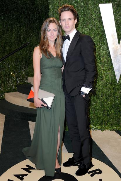 """Les Miserables"" actor Eddie Redmayne, right, and Hannah Bagshawe."