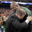 Tom Izzo, Magic Johnson