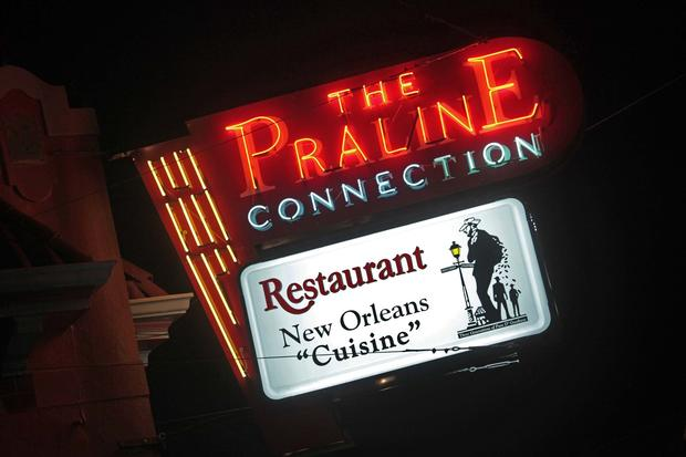 The Praline Connection gets its name from a favorite New Orleans treat. The city's cuisine is featured prominently on the menu.