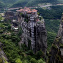 Remote monasteries of Metéora, Greece