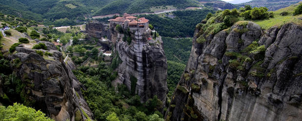 Remote Monastery, Greece.