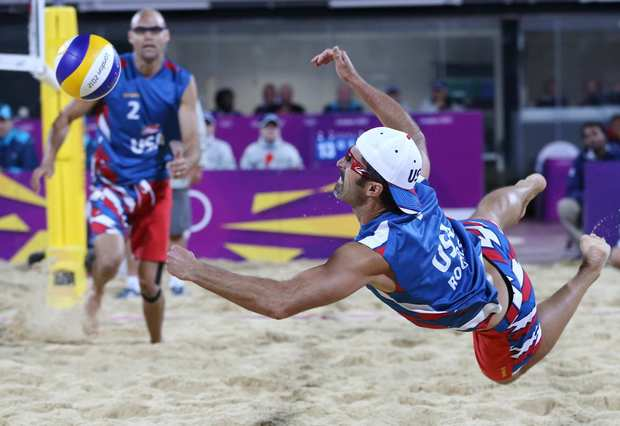 "Beach volleyball duo Phil Dalhausser and Todd Rogers signed a deal for the 2012 London Olympics to wear Loudmouth Golf apparel during matches. Loudmouth owners Larry Jackson and Scott ""Woody"" Woodworth have seen a huge bump in business by having their products featured in the Summer Games."