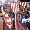 The U.S. Men's 4x400-meter relay team in 2000