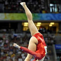 Shawn Johnson beam