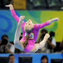Nastia Liukin floor exercise