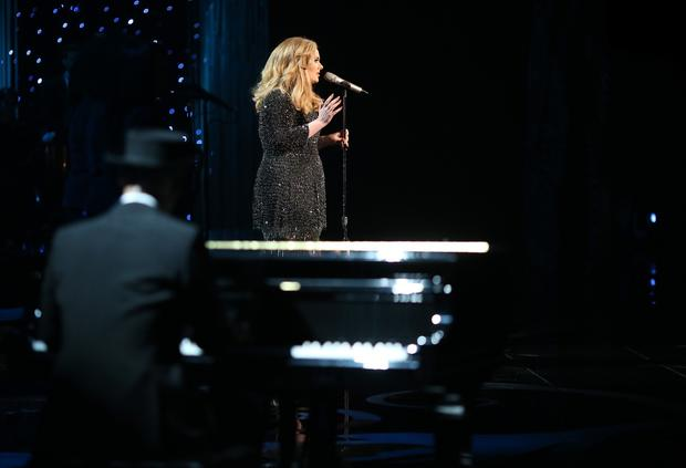 "Not everything in the Oscar ceremony was an uncomfortable mess. Adele brought the charm and power she's displayed so many times at the Grammys to the Oscars and owned the room for her performance of the nominated song ""Skyfall."""