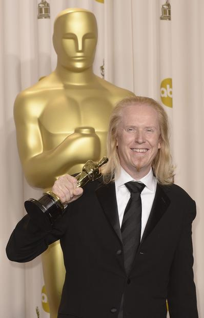 "Oscar statisticians had their minds blown when the sound editing category yielded a tie. (It has happened only five times in Oscar history). Sound editors for ""Zero Dark Thirty,"" right, and ""Skyfall"" went on stage to get their awards, and showed that in order to be really successful in the sound editing community, one's hair must be long and blond."