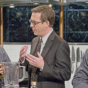 "Ted Allen, right  |  Host of ""Chopped"""
